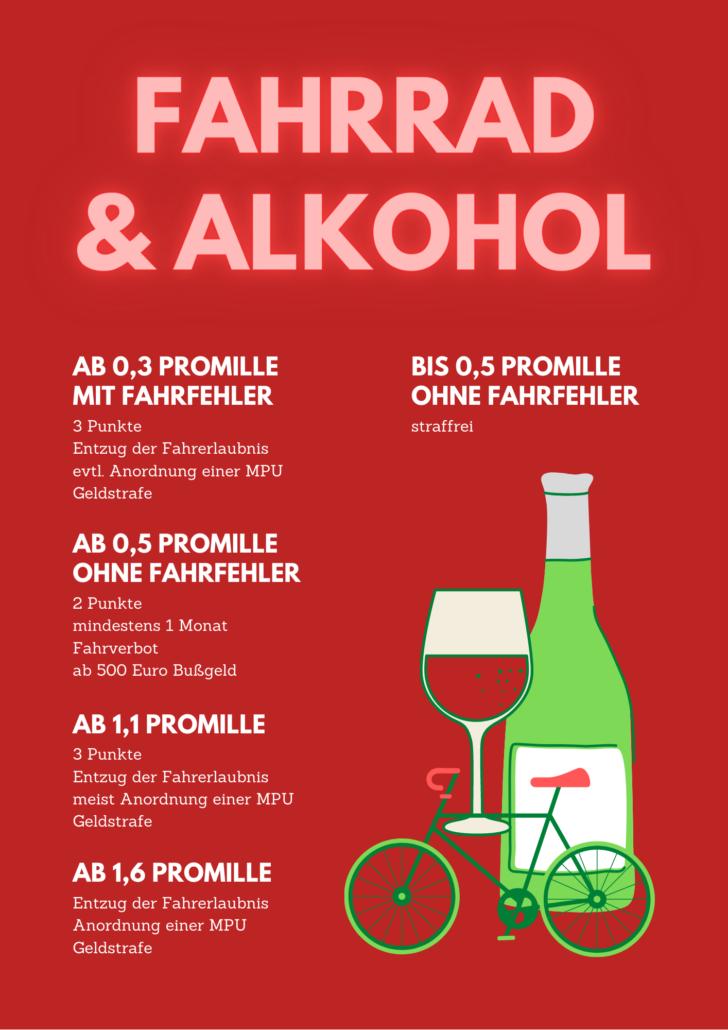 Fahrrad MPU Alkohol Medizinisch Psychologische Untersuchung