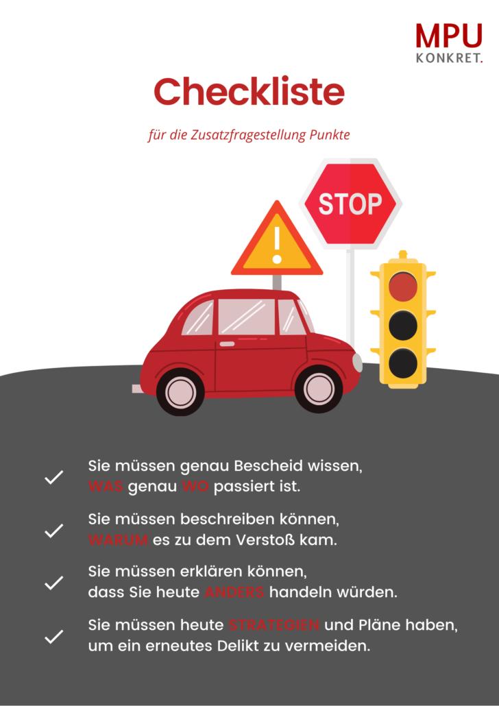 MPU Fragen und Antworten Verkehrsrecht