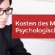 MPU Kosten Preise Medizinisch Psychologische Untersuchung
