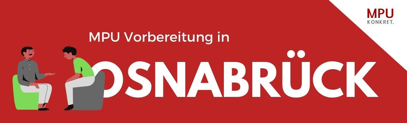 MPU Beratung Osnabrück Niedersachsen