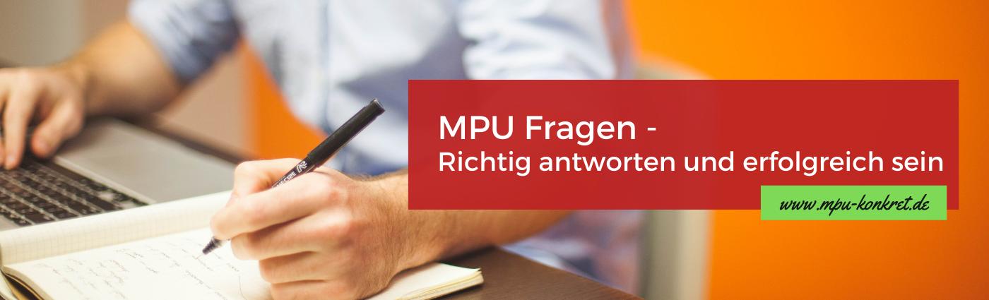 MPU Fragen und Antworten PDF Beispielfragen